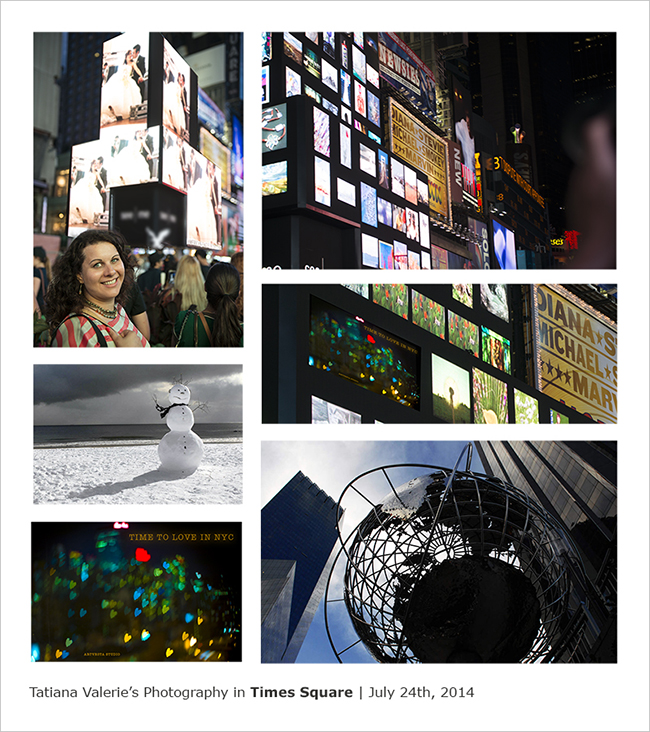 Tatiana Valeries Photography in Times Square 650