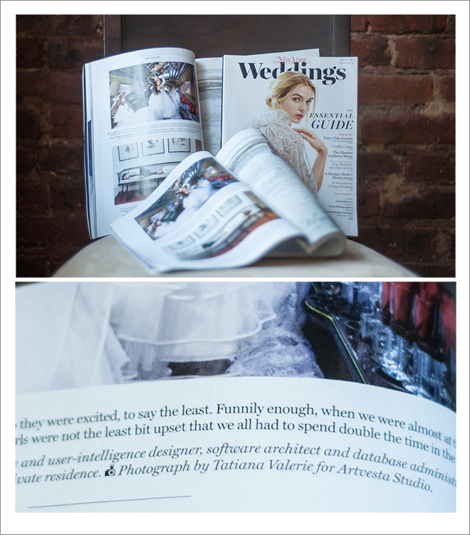 Tatiana Valerie at Artvesta Studio featured in New York Weddings Magazine 2016-660