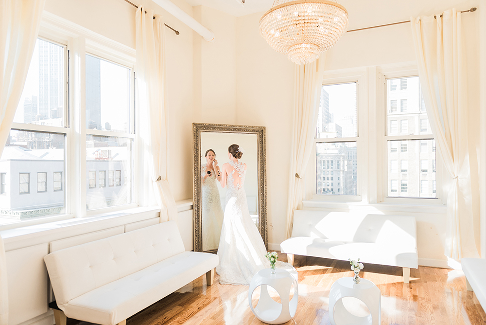 Midtown Loft & Terrace bride