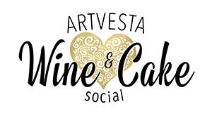 Artvesta Wine & Cake Logo