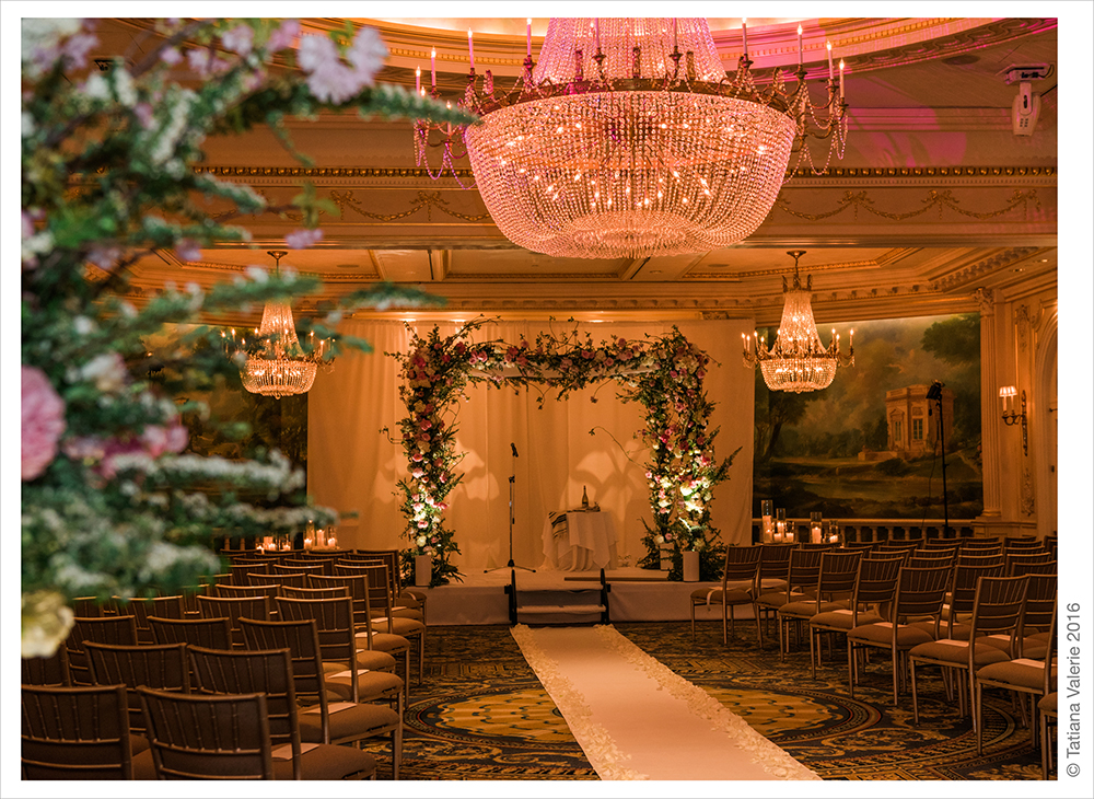 Luxury wedding at Essex House NYC