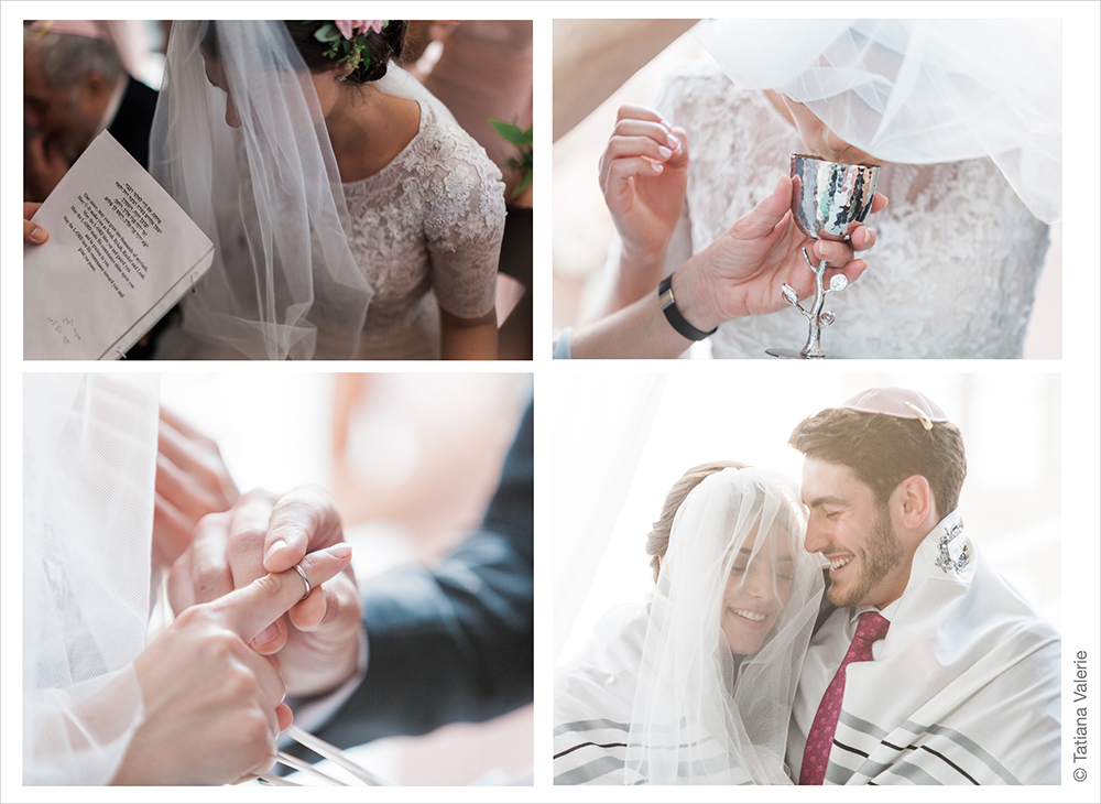 Modern Orthodox Jewish wedding at Studio 450 NYC Manhattan