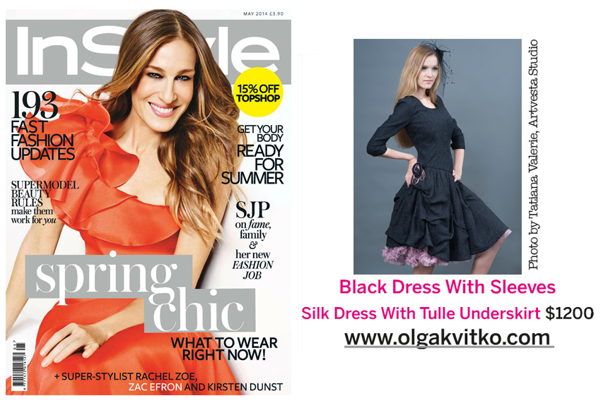 Tatiana Valerie at Artvesta Studio is featured in InStyle 2014